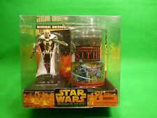 Star Wars General Grievous figure and Collector's cup Revenge of the Sith NEW