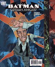 BATMAN: GOTHAM KNIGHTS #68,69,70,71/BATMAN #608 DC Comics Jim Lee Detective HUSH