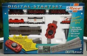 Roco 41212 HO Digital Starter Set Class 80 Locomotive 5 Cars DC DB