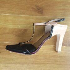zara dressy block heels/ sandals shoes size 6 wedding party