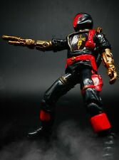 GI Joe Red Laser Black Major Jungle Camo BAT