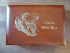 KOALA MEDAGLIA box in legno per 60 x 1 once monete d'argento