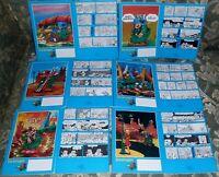 SET QUADERNI NOTEBOOK COVER FUMETTI COMICI BONVI CARTOLERIA ANNI 80,STURMTRUPPEN