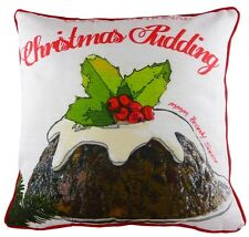 17inch Christmas Pudding Pre Filled Pud Cushion Xmas Decoration