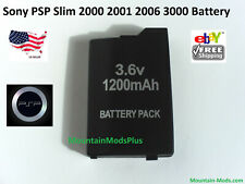 Rechargeable Replacement Battery 1200mAh Fits Sony PSP Slim 2000 2001 2006 3000