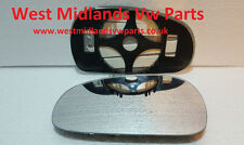 Passenger Side HEATED WING DOOR MIRROR GLASS Seat Leon MK2 2005-2008 Clip On