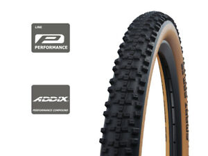 "Schwalbe Smart Sam Addix Snakeskin Tan Wall Folding Tyre 29 x 2.6"""