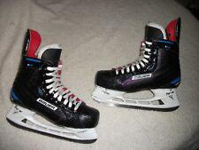BAUER NEXUS 1N NHL ICE HOCKEY SKATES SZ 9 D BUFFALO SABRES JAKE McCABE GAME USED