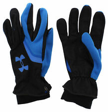 Under Armour Mens Storm Rain Extreme Coldgear Running Gloves Black Small/Medium