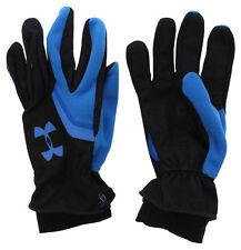 Under Armour Mens Storm Rain Extreme Coldgear Running Gloves Black Small/Medium
