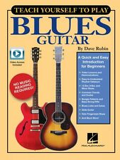 Teach Yourself to Play Blues Guitar - A Quick and Easy Introduction 000148796
