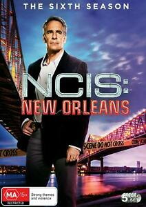 NCIS: NEW ORLEANS The Complete Season Six DVD (Region 4) Sixth Series 6