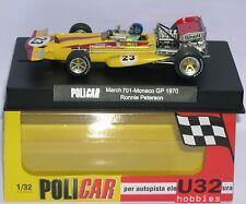 POLICAR CAR04C MARCH 701 F1 #23 MONACO GP 1970 RONNIE PETERSON   MB