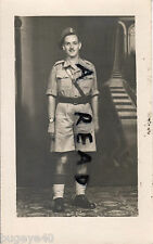 WW2 Warrant Officer Class 1 RAOC Royal Army Ordnance Corps