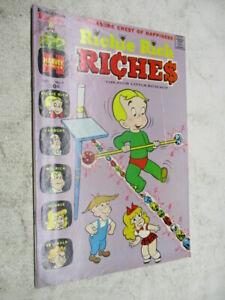 Richie Rich Riches #9 November 1973 FN+