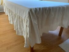 Double / Full Bed Skirt Dust Ruffle 15� Drop Cream by Home Classic