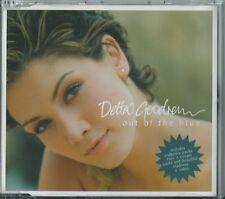 DELTA GOODREM - OUT OF THE BLUE 2004 UK 3 TRACK ENHANCED CD SINGLE