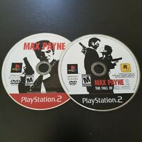Max Payne 1 & 2 (Sony Playstation 2 ps2) Set Lot Both Games - Retro - Discs Only