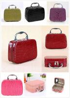 Large Cosmetic Make Up Travel Toiletry Bag Case Wash Holder Organizer Handbag UK