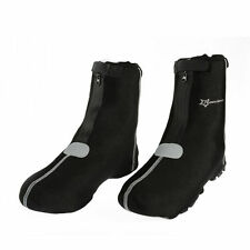 RockBros Cycling Shoe Covers Warm Cover Windproof Protector Overshoes Black