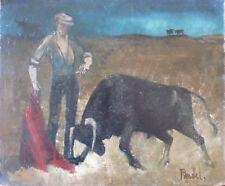 Michel PANDEL (1928-1978) HsT Années 60 Jeune Peinture Nlle Ecole de Paris