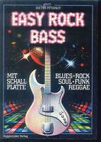 Dieter Petereit - Easy Rock Bass - mit Schallplatte