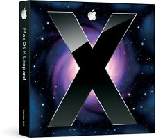 Mac OS X Leopard Version 10.5 Apple Computer Operating System SEALED: Brand NEW