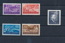 D194851 Liechtenstein MNH 1937 Sc. 132-135 Labor + Sc. 151a