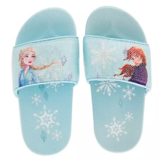 Frozen 2 Childrens//Kids Anna /& Elsa Flip Flops 338