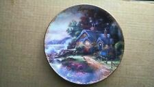 """Thomas Kinkade Simpler Times Plate August A New Day Dawning 5 3/4"""""""