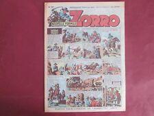 ZORRO N°247 4 MARS 1951 ERIK PELLOS OULIE CLARENCE GRAY SAINT OGAN BON ETAT