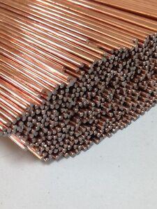 50 x Lengths Super6 1mm TIG Filler ER 70S 6 Rod Welding Wire A18 copper coated