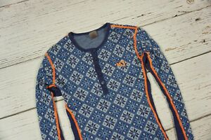 KARI TRAA 100 % Merino Wool Winter Base Layer Shirt Top Size M