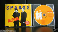 Sparks - When Do I Get To Sing My Way 4 Track CD Single