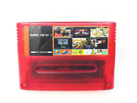 Super 130 in 1 Game 16 Bit for N SNES Multi Cart Game Cartridge NTSC-J EUR-V PAL