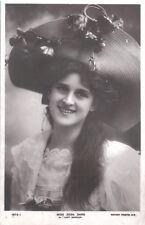 Vintage Postcard Zena Dare Actress Rotary Photograph  c.1900s
