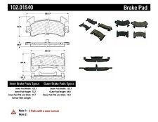 Disc Brake Pad Set-Rear Disc Front,Rear Centric 102.01540