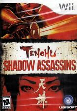 TENCHU: SHADOW ASSASSINS Nintendo Wii (free US shipping) NEW