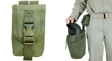 OD GREEN VooDoo Tactical Military Hunting Airsoft Molle Helmet Bag Utility Pouch
