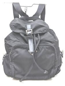 Prada Back Pack  Black Nylon 1605333