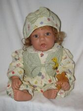 """20"""" Lee Middleton Thumb Sucking Baby Doll W/Pacifier 1997 By Reva"""