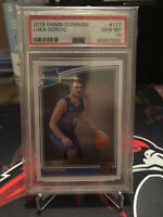 Luka Doncic 2018-19 Donruss Rated Rookie #177 PSA 10 GEM MINT Red Hot RC 🔥📈