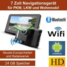 Elebest 17,8cm 7Zoll Navigationsgerät,PKW,Wohnmobil,TMC,Bluetooth,Radar,24GB,NEU