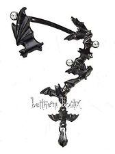 Goth : Alchemy Boucle d' Oreille Unique Chauve Souris Night Sky Single Gothique
