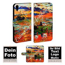 HTC Desire 830 Personalizzata Guscio Per Cellulare Borsa con nome Foto immagine stampa ASTUCCIO