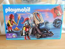 Playmobil Dragon Knights + Canon in box (Playmobil nr: 3320)