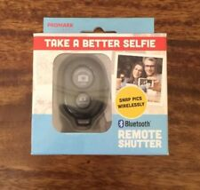 Promark Bluetooth Remote Shutter for Android and iOS Devices Black