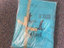 personalised bath sheet fishing design
