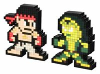 PDP Pixel Pals Marvel vs. Capcom Infinite Gamora vs. Ryu Collect Figure 2 Pack