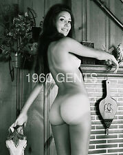 1960 8X10 NUDE PHOTO OF BIG BREASTS/ NICE ASS MARIA FANELLI FROM ORIGINAL NEG-3